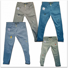 4 Colour Regular Fit Men Denim Jeans