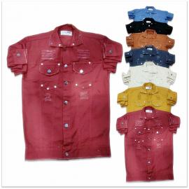 DVG - 7 Colour Denim Shirt For Men's