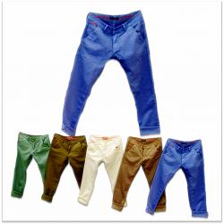 Wholesale - 5 Dusty Colours Men's Jeans