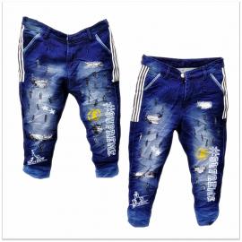 DVG - Men Printed Funky Jeans
