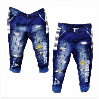 DVG - Men's Printed Funky Jeans