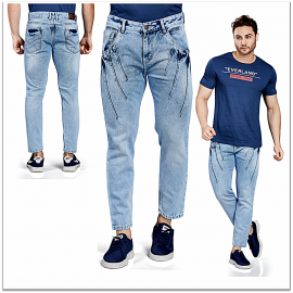 Royal Spider - Men's Casual Classic Jeans