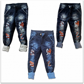 DVG - Funky Ripped Jeans For Men