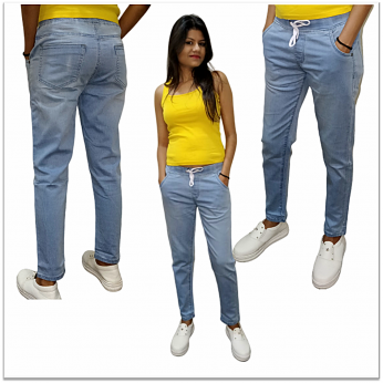 Denim Vistara joggers for women