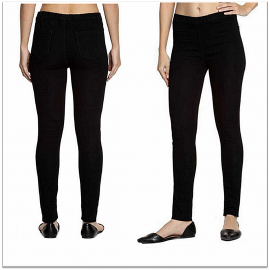 Denim Vistara - Women Black Denim Jeggings