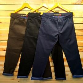Mens Regular Fit Cotton Check Trouser