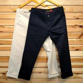 Mens Regular Fit Cotton Trouser