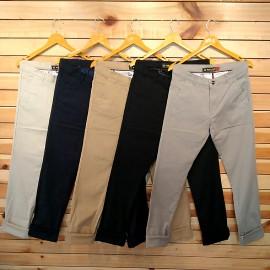 Mens Regular Fit Cotton Trouser 5 Colour Set