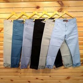 Mens Regular Fit Cotton Trouser 6 Colour Set.