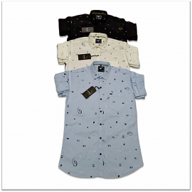 Kaprido Cotton Printed Mens Shirts K-0034