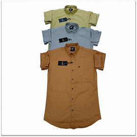 Kaprido Cotton Printed Mens Shirts