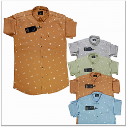 Kaprido Cotton Printed Mens Shirts Wholesale Rs.385