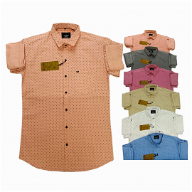 Kaprido Cotton Printed Mens Shirts Wholesale Rs.
