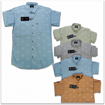 Kaprido Cotton Printed Mens Shirts Wholesale Rs. K-0025