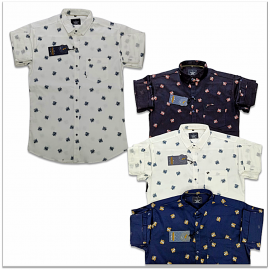 Wholesale Price Kaprido Cotton Printed Mens Shirts