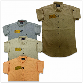 Kaprido Cotton Printed Mens Shirts Wholesale Price.