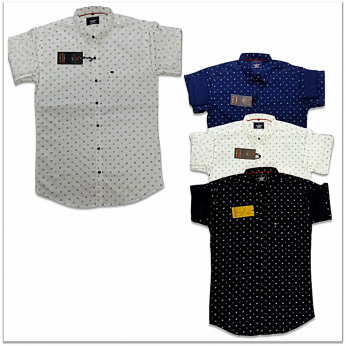 Wholesale - Kaprido Mens Cotton Printed Shirt