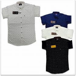 Wholesale - Kaprido Mens Cotton Printed Shirt
