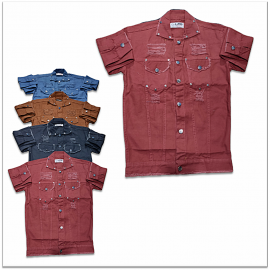 DVG - 7 Colour Denim Shirt For Men's