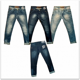 3 Colour Regular Fit Men Jeans Wholesale price.