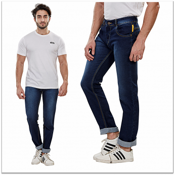 Denim Vistara D Blue Fit Jeans For Mens