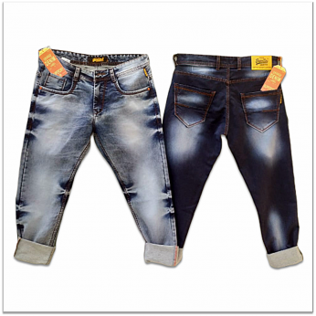 Men's Regular Fit Stretch Jeans Wholesale GTU-0022