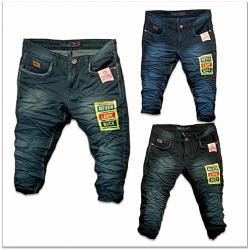 Men's 3 Dusty Colours Repeat Jeans