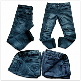 Men Tone Ripped Denim jeans