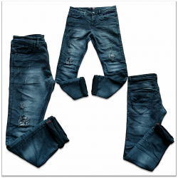 Men Tone Ripped Denim jeans