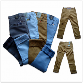 Men 4 Colour Chinos Jeans
