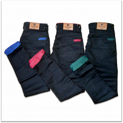 Men 3 Colour Mill Died Jeans