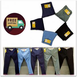 Men 5 Colour Mill Died Jeans
