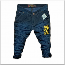 Men's Wrinkle Jeans 3 Colours Set.