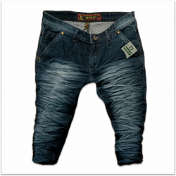 Mens Wrinkle Jeans 2 Colours Set.