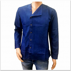 DVG - Denim Chinese kurta