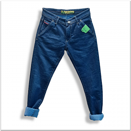 Men Comfort Fit Blue Jeans