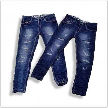 Men Regular Fit Stretchable Damage Jeans Wholesale Rs. 599 DL-1001