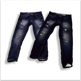 Wholesale Men Damage Stretchable Jeans