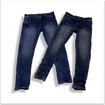 Wholesale Men Stretchable Torn Jeans