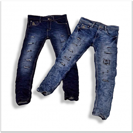 Wholesale Stylish Damage Jeans Factory Price