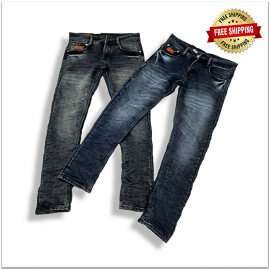 Men's Relaxed Fit Denim Jeans Factory Rate 490.
