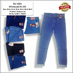 Wholesale Regular Men Denim jeans