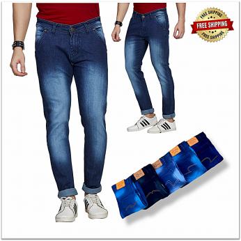 Men's Jeans 6 Colours Set Wholesale Rate