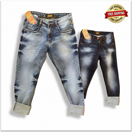 Relaxed Fit Men Denim Jeans Factory Rate 540.