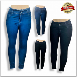 Skinny Fit Clean Look Stretchable Women Jeans