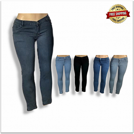 Women Stretchable Jeans B2b Piece 410.