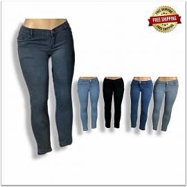 Women Stretchable Jeans B2b Piece 410 SU-102
