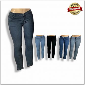 Women Stretchable Jeans B2b Piece 410 SU-102
