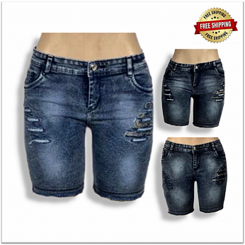 Women Skinny Denim Short