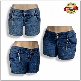 Skinny Women Denim Short